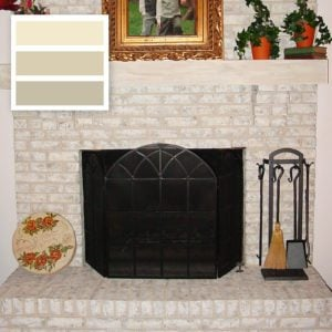 Frosted Sunshine Brick-Anew Fireplace Paint Color