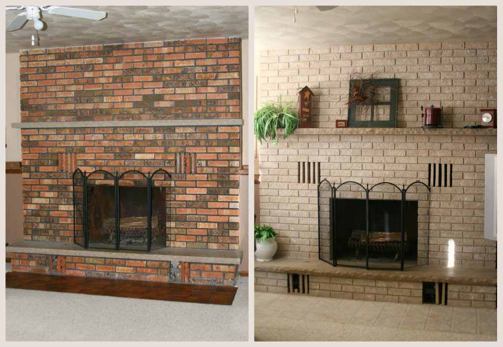 Fireplace Paint Fireplace Doors And Accessories Brick Anew