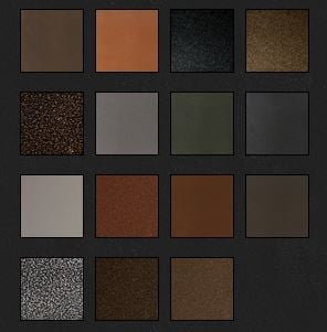custom door frame color choices